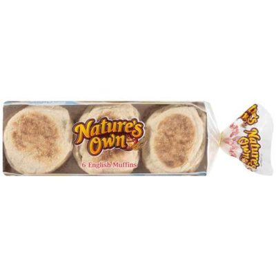 100 Calorie Multi-Grain English Muffins from Nature's Own ...