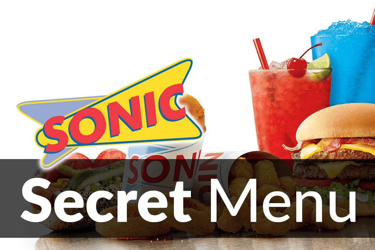 Sonic Drive-In Secret Menu Items Sep 2019   SecretMenus