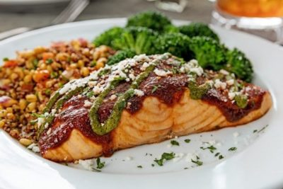 Ancho Salmon From Chili S Nurtrition Price