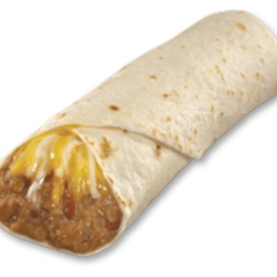 bean and cheese burrito calories