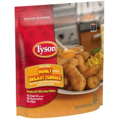 Breaded Chicken Breast Tenders From Food Lion Nurtrition Price