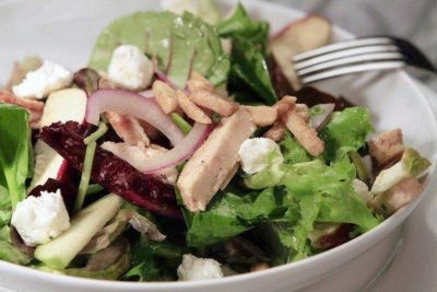 Chicken Apple Goat Cheese Salad From Nordstrom Nurtrition Price