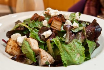 Chicken Artichoke Goat Cheese Salad From Nordstrom Nurtrition