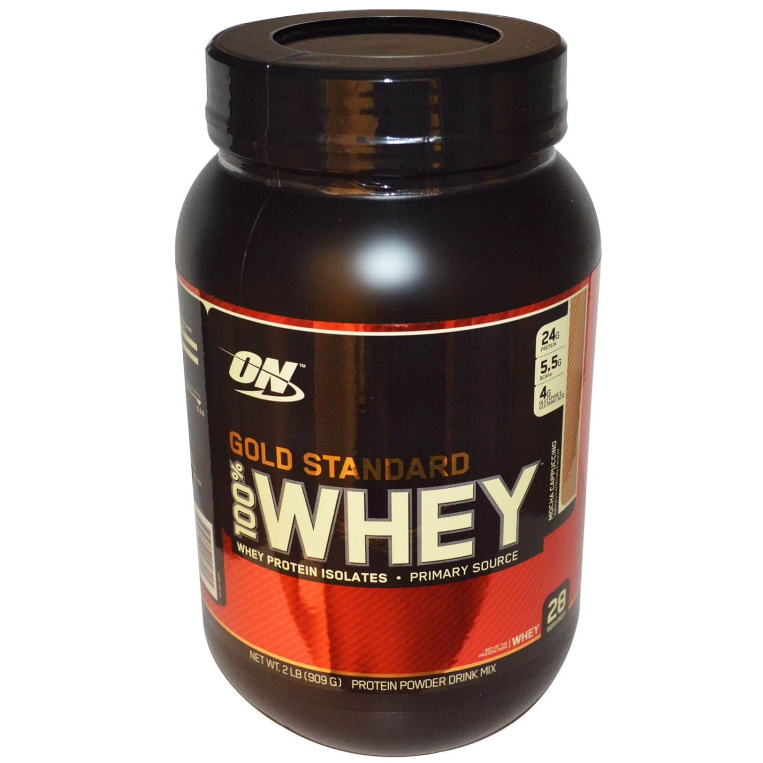 gold standard 100 whey mocha cappuccino from optimum. Black Bedroom Furniture Sets. Home Design Ideas