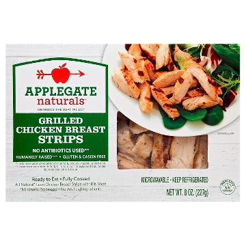 Grilled Chicken Breast Strips From Kirkland Signature Nurtrition