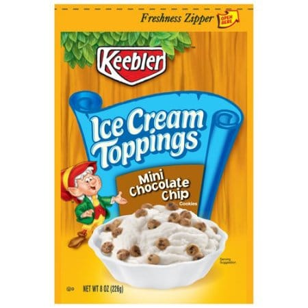 Keebler Simply Made Chocolate Chip Cookies Nutrition