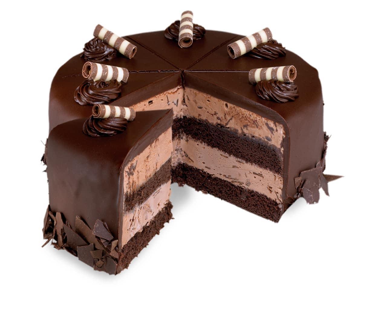 How Many Calories In Slice Of Ice Crea Cake