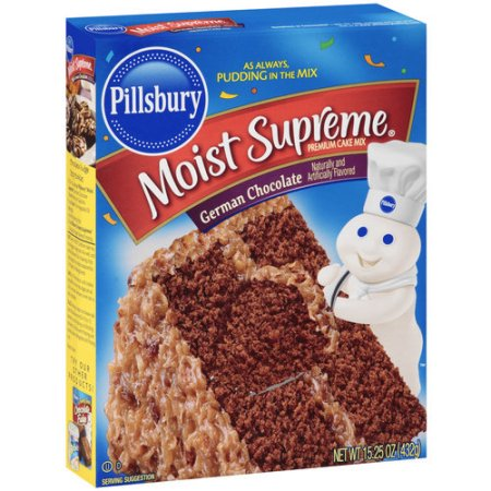 Pillsbury Cake Mix Nutrition