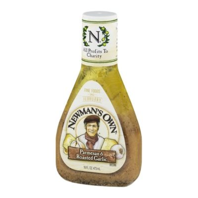 Parmesan & Roasted Garlic Salad Dressing from Newman's Own ...
