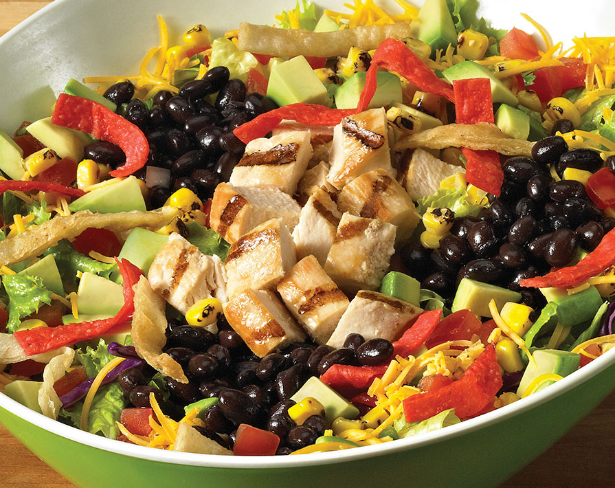 Southwest Chicken Salad From Farmer Boys Nurtrition Amp Price