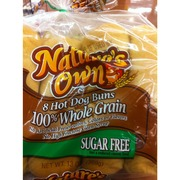 Nature S Own Wheat Hamburger Buns Nutrition