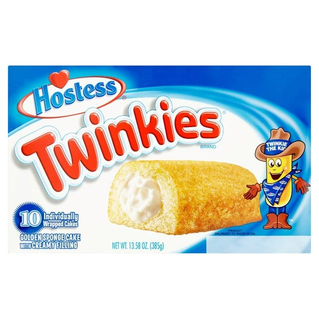 Golden Sponge Cake Twinkies