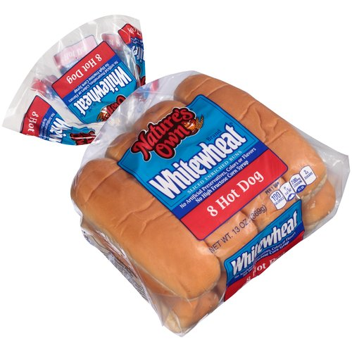 Nature S Own Whole Wheat Hamburger Buns Nutrition