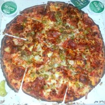 16 original crust pizza the meats from papa john s pizza