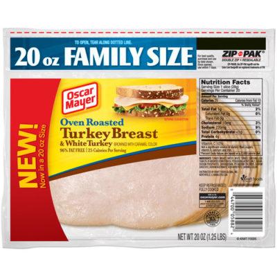 Roast turkey breast nutritional facts