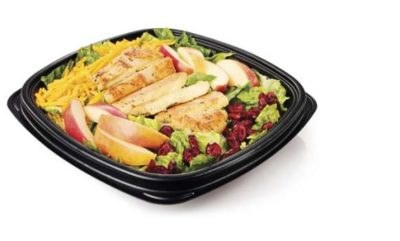 Apple & Cranberry Grilled Chicken Salad from Whataburger   Nurtrition & Price