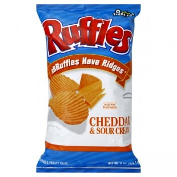 Baked! Cheddar & Sour Cream Potato Crisps (Package) from ...