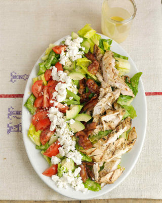 Cobb Zalad With Grilled Chicken From Zaxby S Nurtrition Price