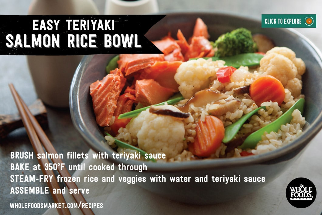 Whole Foods Teriyaki Bowl Calories