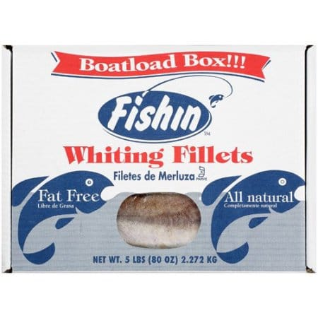 Natural whiting fillets from seapak nurtrition price for Whiting fish fillet