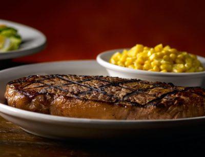 Calories in new york strip steak