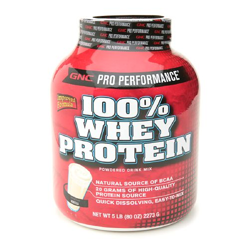 pro performance 100 whey protein vanilla from gnc nurtrition price. Black Bedroom Furniture Sets. Home Design Ideas