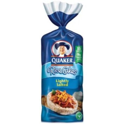 Quaker Rice Cakes Gluten Free Nutrition Facts