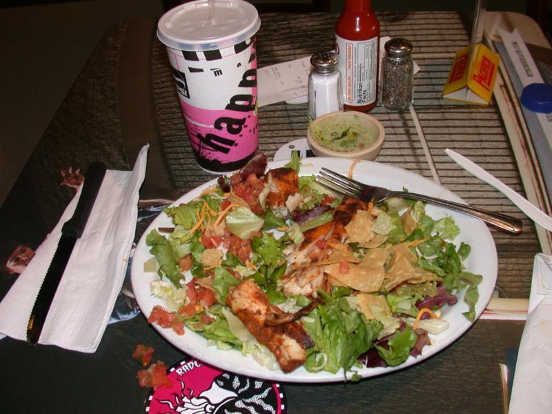 wahoo 39 s blackened fish salad no chips from wahoo 39 s fish