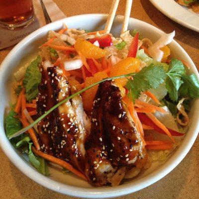 Warm Asian Glazed Chicken Salad From Nordstrom Nurtrition Price
